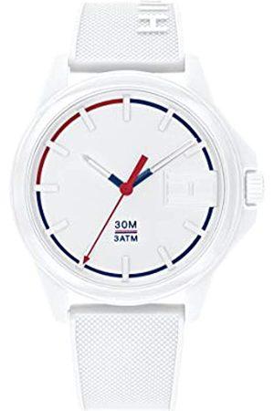 Tommy Hilfiger Reloj Analógico para Hombre de Cuarzo con Correa en Silicona 1791623