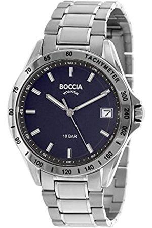 Boccia Hombre Relojes - RelojAnalógicoparaHombredeCuarzoconCorreaenTitanio3597-01
