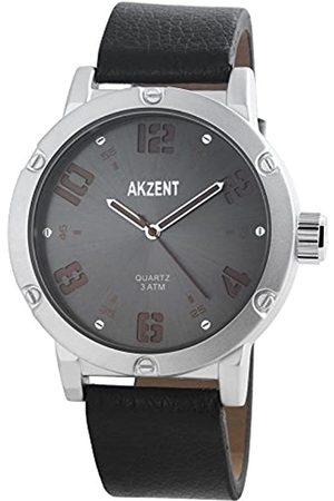 Akzent Hombre Relojes - Reloj analógico para Hombre de Cuarzo con Correa en Varios Materiales SS7521600014