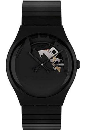 Swatch SUOZ137B - Reloj analógico de Cuarzo para Mujer con Correa de Acero Inoxidable