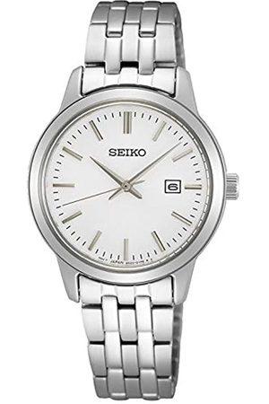 Seiko Reloj Analógico para Mujer de Cuarzo con Correa en Metal SUR405P1