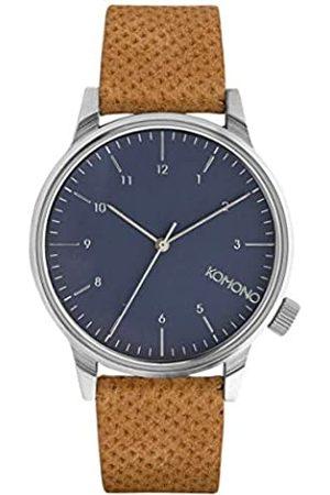 Komono Relojes - Reloj Analógico de Cuarzo Unisex con Correa de Cuero – KOM-W2000