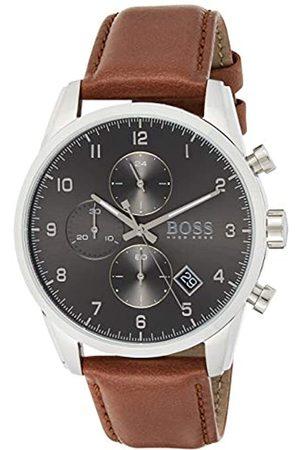 HUGO BOSS Reloj para de Cuarzo con Correa en Cuero 1513787