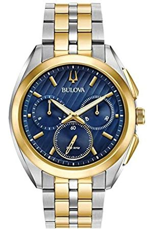 BULOVA Reloj Cronógrafo para Hombre de Cuarzo con Correa en Acero Inoxidable 98A159