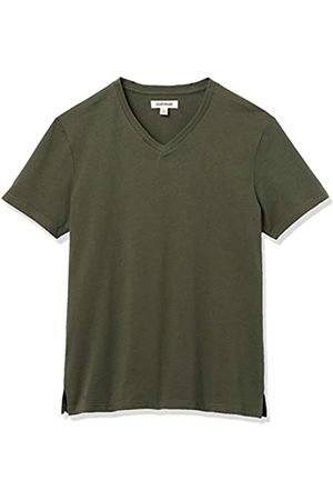 Goodthreads Hombre Manga corta - Heavyweight Oversized Short-Sleeve V-Neck T-Shirt Novelty-t-Shirts