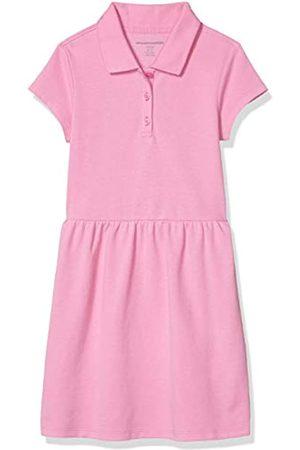 Amazon Girls' Short-Sleeve Polo Dress Shirts