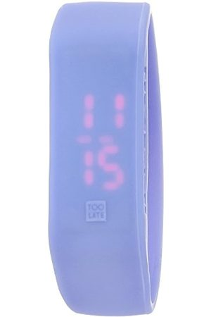 too 2 late Reloj Unisex LED Thermo Lavender M