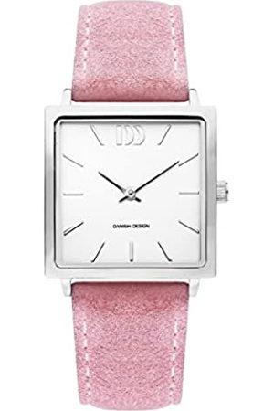 Danish Design Mujer Relojes - Reloj Analógico para Mujer de Cuarzo con Correa en Cuero IV20Q1248