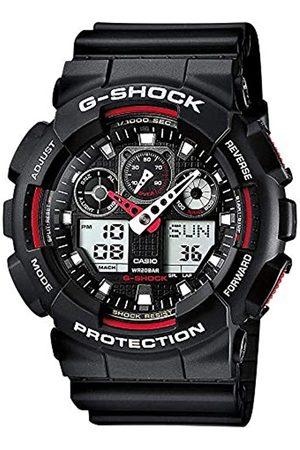 Casio G-SHOCK Reloj Analógico-Digital, 20 BAR, Negro, para Hombre