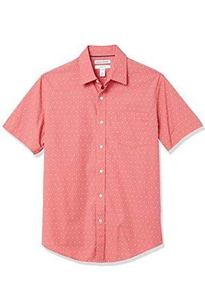 Amazon Slim-Fit Short-Sleeve Casual Poplin Shirt Button-Down-Shirts