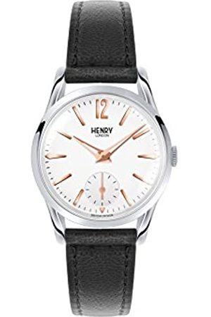 Henry Reloj Analógico para Unisex de Cuarzo con Correa en Cuero 5018479077435