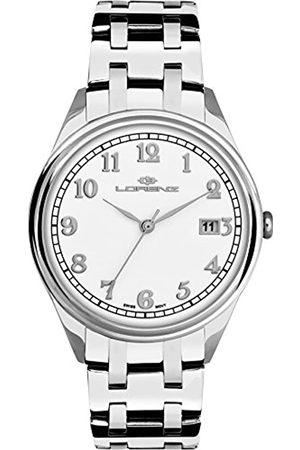 Lorenz Hombre Relojes - RelojAnalógicoparaHombredeCuarzoconCorreaenAceroInoxidable027157AA