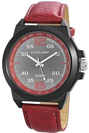 Excellanc Hombre Relojes - 295071600168 - Reloj de Pulsera Hombre, Varios Materiales