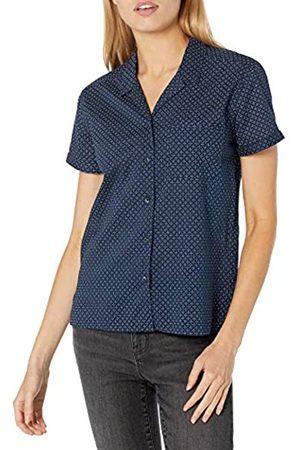 Goodthreads Camisa de Campamento de algodón Dobby Shirts US L (EU L - XL)