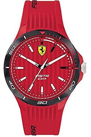 Scuderia Ferrari Reloj Analógico para Hombre de Cuarzo con Correa en Silicona 0830781