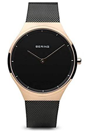 Bering Relojes - Reloj Analógico Classic Collection para Unisex de Cuarzo con Correa en Acero Inoxidable & Cristal de Zafiro 12138-162