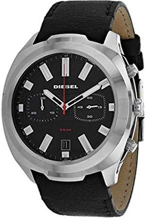 Diesel Reloj Cronógrafo para Hombre de Cuarzo con Correa en Cuero DZ4499