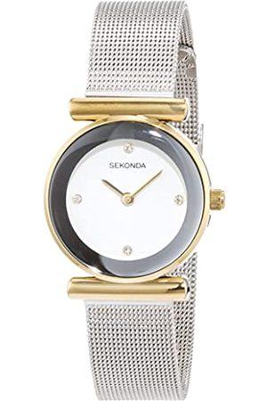 Sekonda Reloj Mujer de Analogico con Correa en Chapado en Acero Inoxidable 4887.27