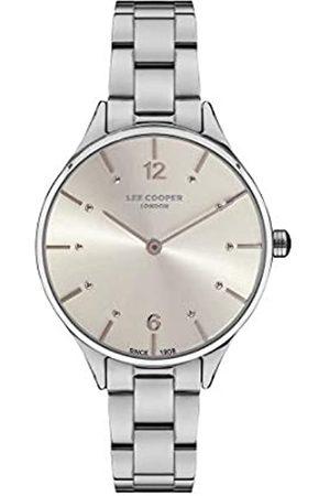 Lee Cooper Reloj Analógico para Mujer de Cuarzo con Correa en Metal LC07027