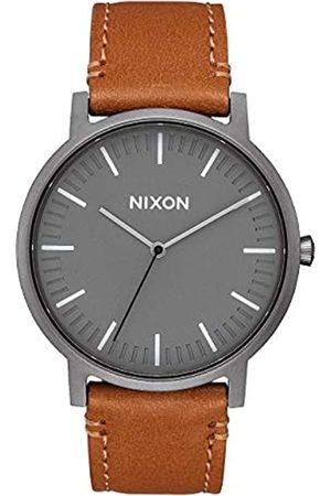 Nixon Relojes - Reloj Analógico para Unisex Adultos de Cuarzo con Correa en Cuero A1058-2494-00