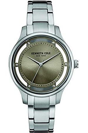 Kenneth Cole Reloj Analógico para Mujeres de Cuarzo con Correa en Acero Inoxidable 10030795
