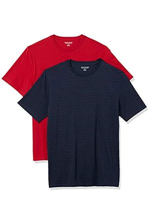 Amazon Hombre Polos - 2-Pack Slim-Fit Crewneck T-Shirt Fashion-t-Shirts, XS