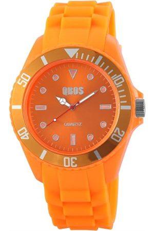 QBOS RP3468590004 - Reloj analógico de Cuarzo para Hombre con Correa de Silicona