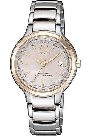 Citizen Mujer Relojes - Reloj Analógico para Mujer de con Correa en Acero Inoxidable EC1170-85E