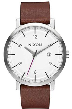Nixon Hombre Relojes - Reloj Analogico para Hombre de Cuarzo con Correa en Cuero A945-2168-00