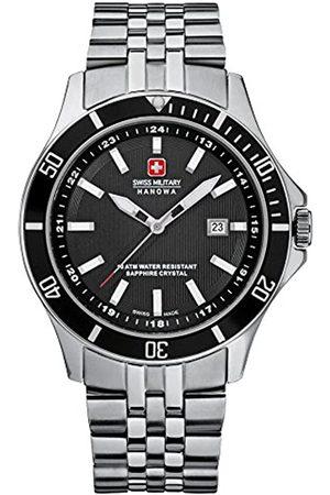 Swiss Military 06-5161.7.04.007 - Reloj analógico de Cuarzo para Hombre con Correa de Acero Inoxidable