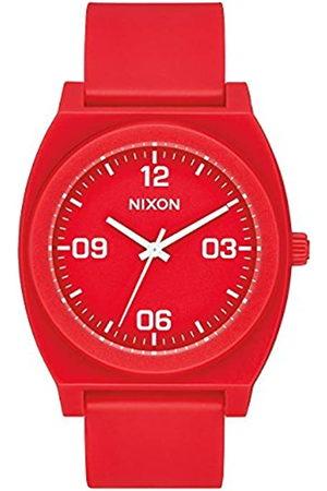 Nixon Reloj Analógico para Hombre de Cuarzo con Correa en PU A1248-3008-00