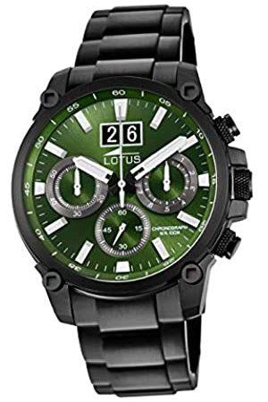 Lotus Reloj Cronógrafo para Hombre de Cuarzo con Correa en Acero Inoxidable 10141/1