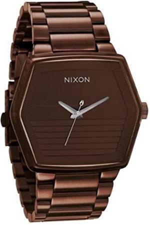 Nixon A018471-00 - Reloj analógico de Cuarzo para Hombre con Correa de Acero Inoxidable