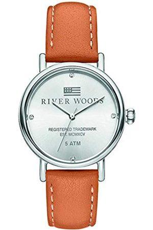 River Woods Reloj Analógico para Mujer de Cuarzo con Correa en Cuero RW340038