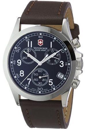 Victorinox Swiss Army - Reloj cronógrafo de Cuarzo para Hombre con Correa de Piel