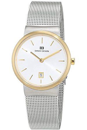 Danish Design Mujer Relojes - Reloj Analogico para Mujer de Cuarzo con Correa en Acero Inoxidable IV65Q971