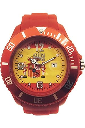 QIIN RelojAnalógicoparaHombreUnisexdeCuarzoconCorreaenCaucho0311SPSS