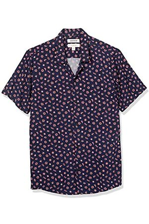 Goodthreads Camisa Hawaiana de Manga Corta con Cuello de Campamento Button-Down-Shirts 3XL