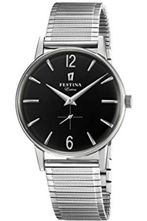 Festina Reloj Análogo clásico para Hombre de Cuarzo con Correa en Acero Inoxidable F20250/4