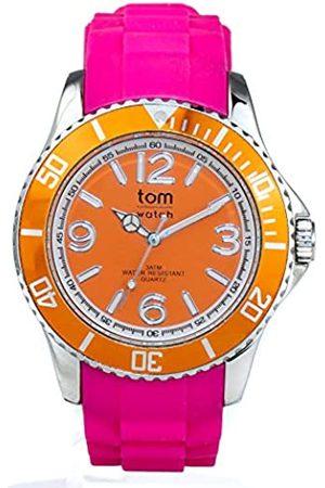 tom watch Hombre Relojes - TomwatchRelojAnalógicoparaUnisexAdultosdeCuarzoconCorreaenCauchoWA00122