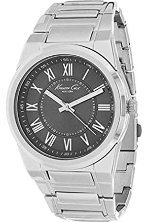 Kenneth Cole Hombre Relojes - Reloj Analógico para Hombres de Cuarzo con Correa en Acero Inoxidable 10024821