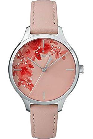 Timex Reloj Analógico para Unisex Adultos de Automático con Correa en Cuero TW2R66600