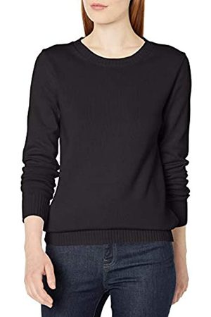 Amazon Mujer Jerséis y suéteres - 100% Cotton Crewneck Sweater Pullover-Sweaters