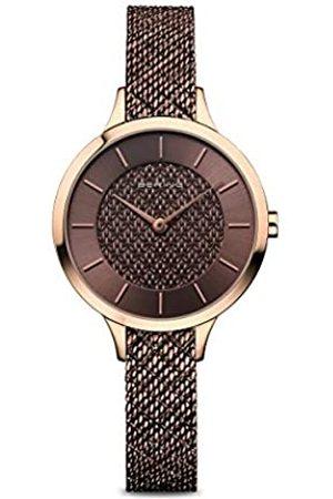 Bering Reloj Analógico para Mujer de Cuarzo con Correa en Acero Inoxidable 17831-265