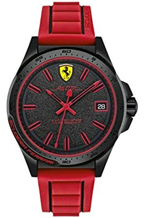 Scuderia Ferrari Reloj Analógico para Hombre de Cuarzo con Correa en Caucho SF0830424