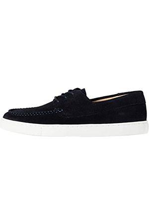 FIND Cupsole Boat Shoe Náuticos, (Navy (Suede)