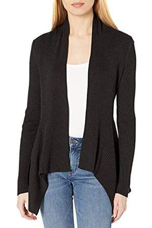 Daily Ritual Mujer Chaqueta de punto - Ultra-Soft Ribbed Draped Cardigan Sweater Sweaters