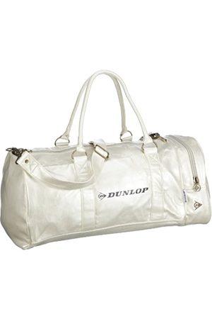 Dunlop Bolso de viaje y vacaciones - Weekender 700602, Unisex - Erwachsene Reisetaschen, Weiss (White)