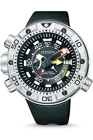 Citizen Hombre Relojes - Promaster Marine - Eco-Drive Aqualand - Reloj de Cuarzo para Hombre, con Correa de Goma