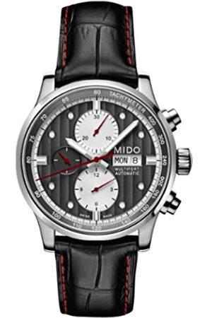 MIDO Reloj Multiesfera para Hombre de Automático con Correa en Cuero M005.614.16.061.22